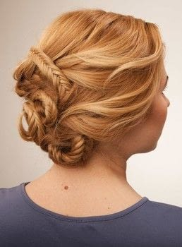 Stunning Braids .  Free tutorial with pictures on how to style a fishtail braid in under 5 minutes by hairstyling with hair pin. Inspired by mermaid. How To posted by Ulysses Press.  in the Beauty section Difficulty: Simple. Cost: Cheap. Steps: 24