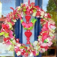 Bell And Bird Christmas Wreath