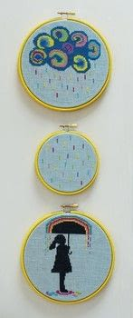 Modern Cross Stitch .  Free tutorial with pictures on how to cross stitch art in 19 steps by cross stitching with charts, cross stitch fabric, and felt. How To posted by Ryland Peters & Small.  in the Needlework section Difficulty: Simple. Cost: Cheap.