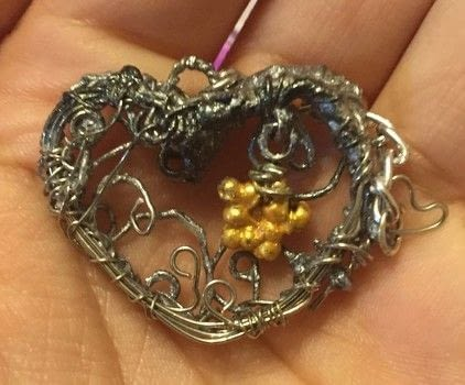 Inspired by: https://www.pinterest.com/pin/66357794481942760/ .  Make a locket in under 120 minutes by constructing, decorating, embellishing, jewelrymaking, and wireworking with wire, tape, and wire tools. Inspired by stars and hearts. Creation posted by Kinhime Dragon.  in the Jewelry section Difficulty: 5/5. Cost: Absolutley free.