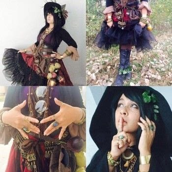 Woooo hooooo witchy woman .  Make a witch costume in under 30 minutes using costume, twigs , and accessories. Creation posted by .  in the Other section Difficulty: Simple. Cost: 3/5.