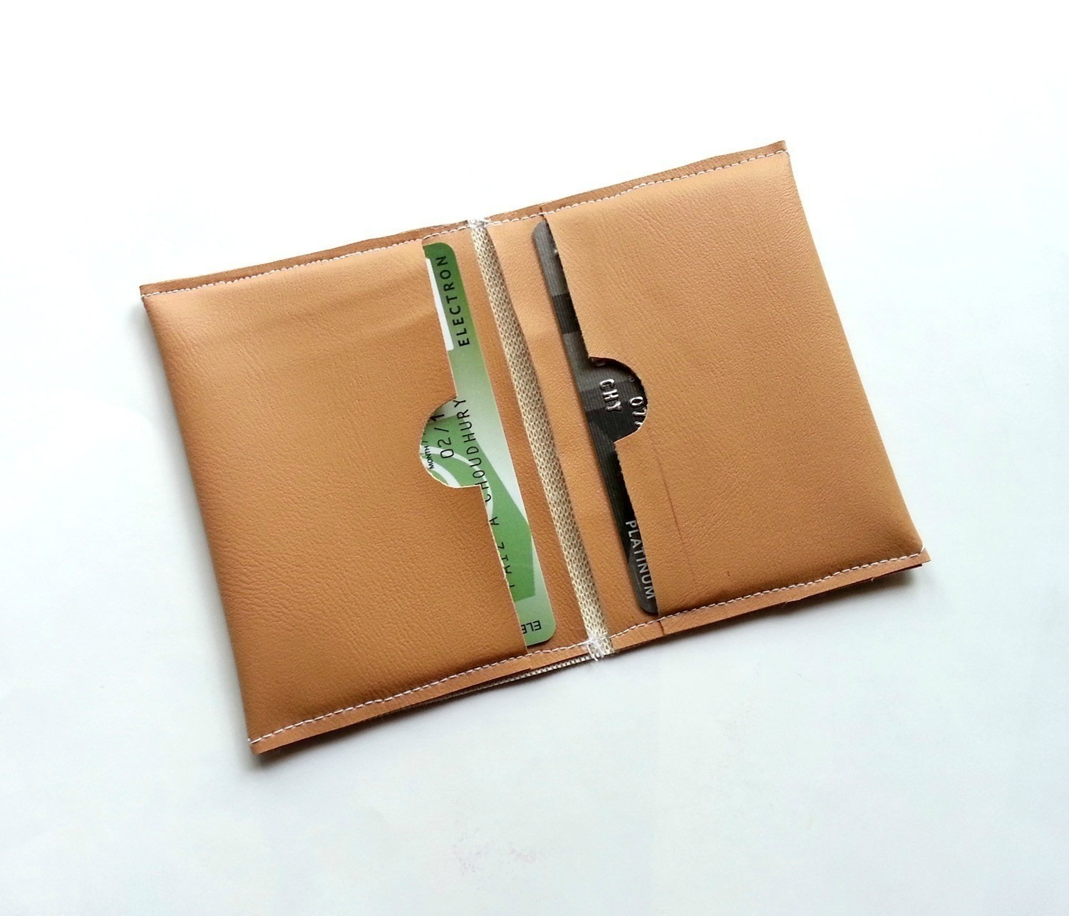 Diy Card Holder How To Make A Pouch Purse Or Wallet Needlework