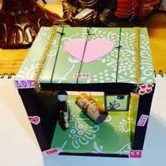 Summer Dreams Shadow Box Assemblage