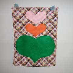 Heart Wall Pockets