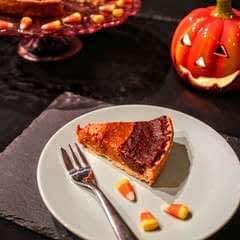 Candy Corn Pumpkin Pie