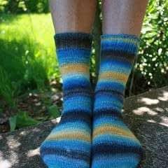 Simple Handspun Socks