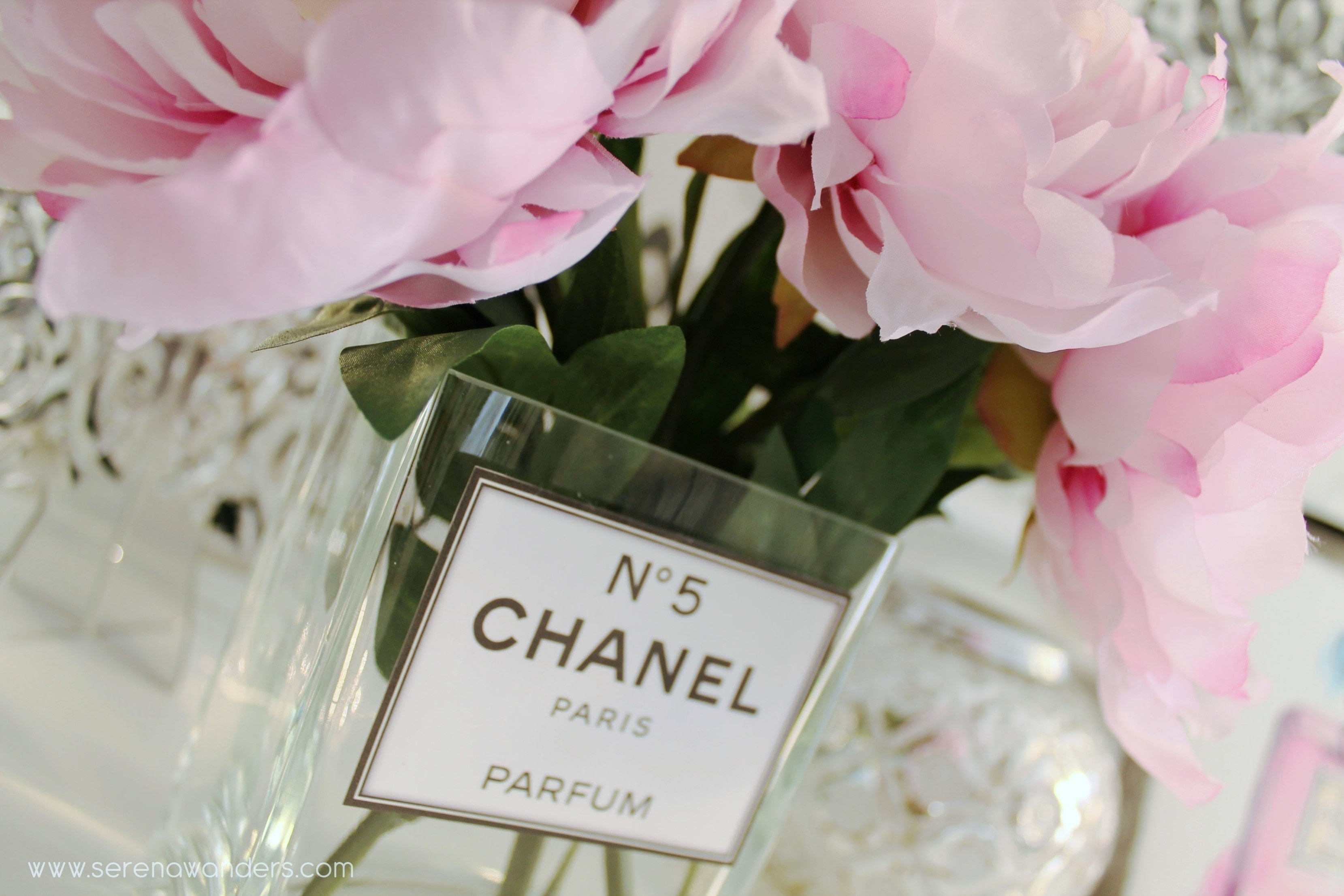 Diy Quot Chanel N 176 5 Parfum Quot Vase 183 How To Make A Vase 183 Home