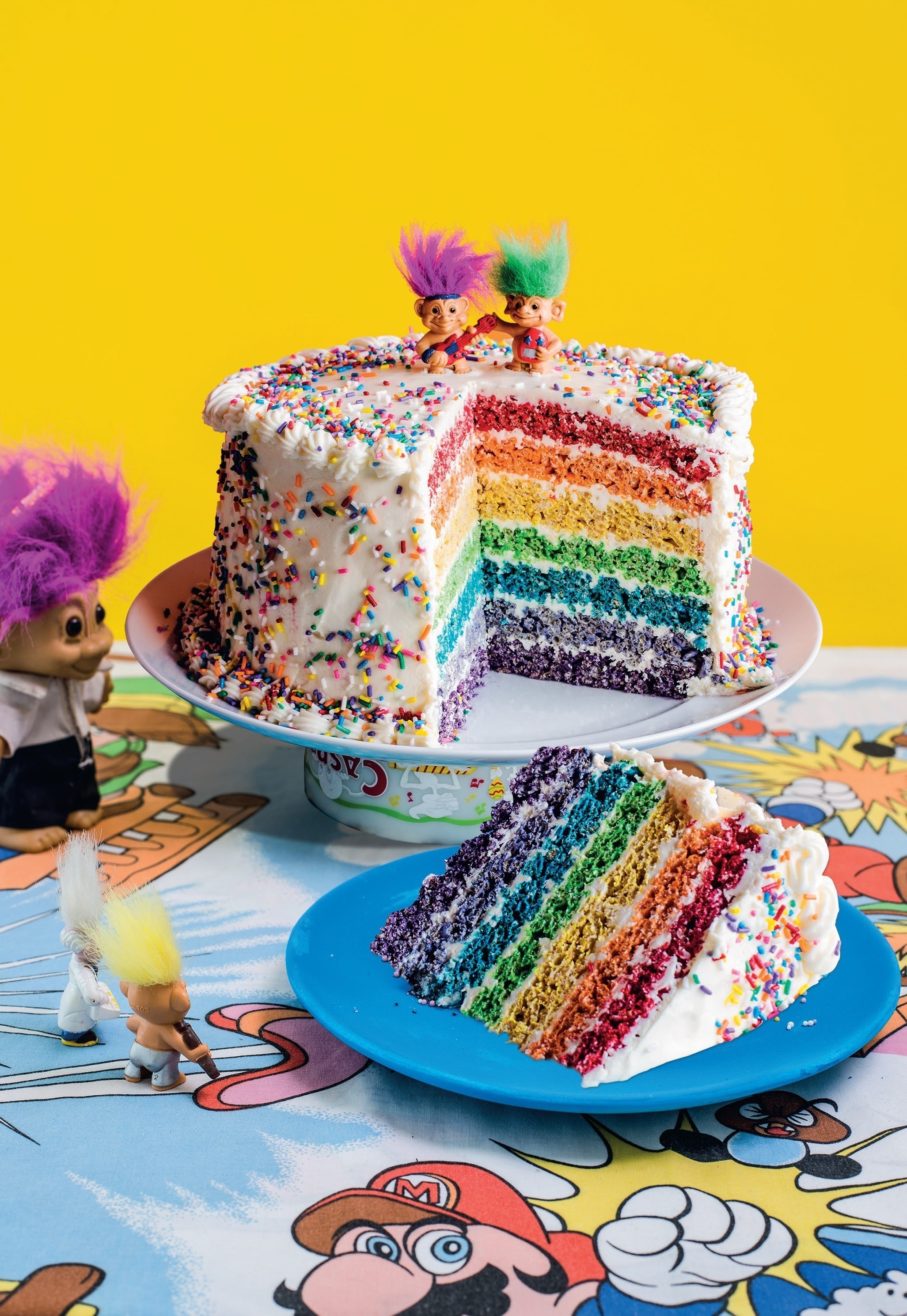 Rainbow Pop Celebration Cake 183 Extract From The Cereal