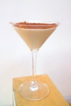 A delicious Toblerone inspired dessert cocktail .  Free tutorial with pictures on how to mix a martini in under 5 minutes by mixing drinks with gin, creme de cacao, and coffee liqueur. Recipe posted by Cat Morley.  in the Recipes section Difficulty: Simple. Cost: Cheap. Steps: 5