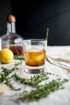 The perfect fall sipper! .  Free tutorial with pictures on how to mix a bourbon cocktail in under 30 minutes by mixing drinks with simple syrup, bourbon, and lemon peel. Inspired by drinks. Recipe posted by Tessa F.  in the Recipes section Difficulty: Easy. Cost: 3/5. Steps: 3