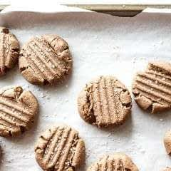 Teff Almond Butter Cookies