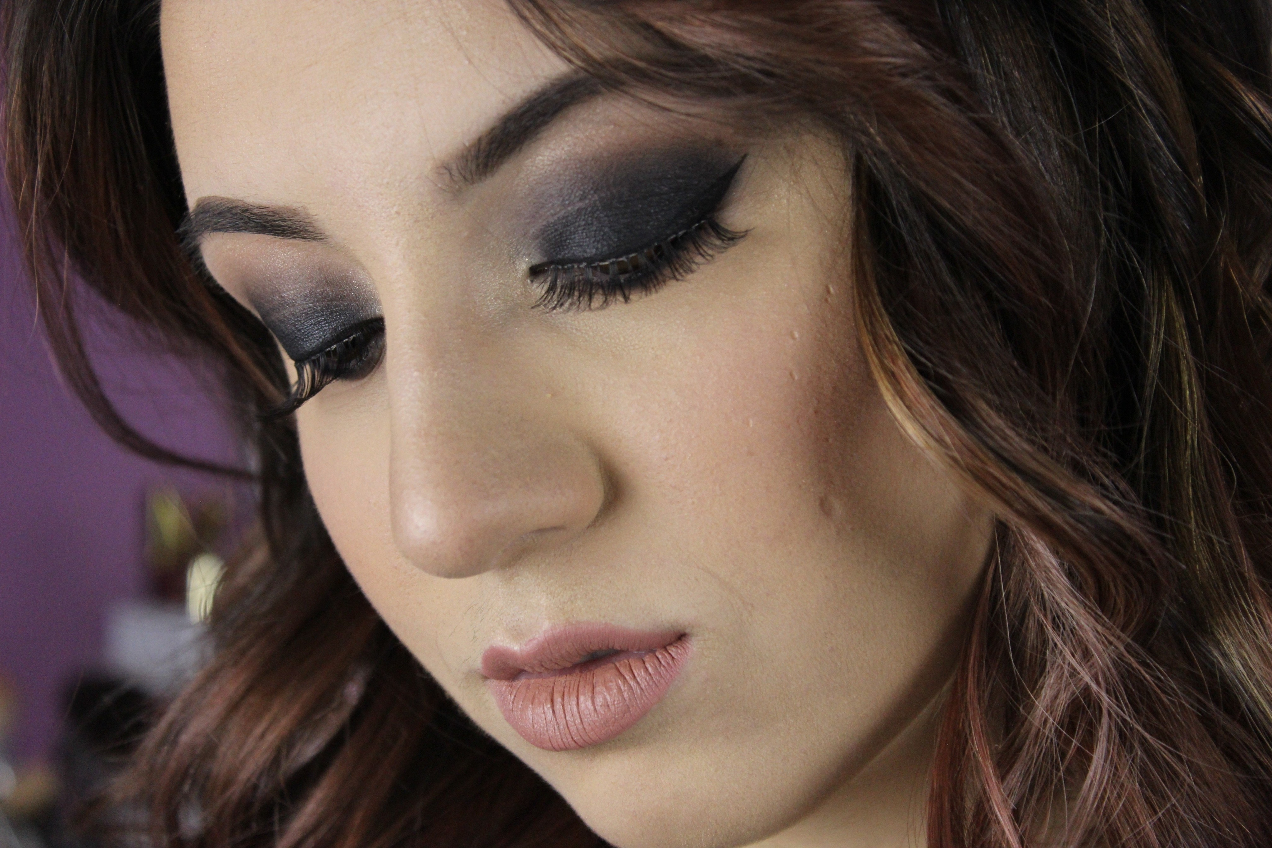 Sultry Black Smokey Eye Makeup Tutorial · How To Create A ... Dramatic Black Eye Makeup