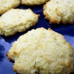 Lemon Rosemary Cookies (Sugar Free, Low Carbohydrate, Grain Free)