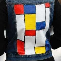 Mondrian Punk Vest