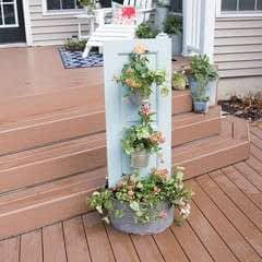 Three Tiered Outdoor Planter