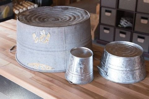 DIY Rustic Modern Metal Crafts .  Free tutorial with pictures on how to make a vase, pot or planter in 9 steps by constructing and decorating with gloves, eye protection, and drill. How To posted by FW Media.  in the Decorating section Difficulty: 3/5. Cost: Cheap.