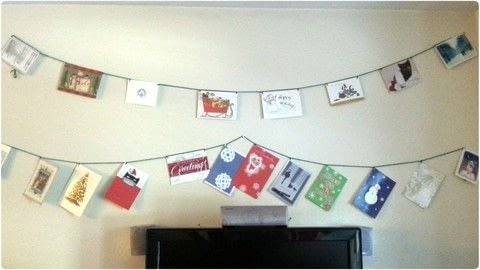 A nice way to reuse old holiday greeting cards. .  Free tutorial with pictures on how to make a garland in under 90 minutes by papercrafting, stencilling, and crocheting with greeting card(s), edging scissors, and yarn. Inspired by christmas. How To posted by gypsie_jay.  in the Decorating section Difficulty: Easy. Cost: No cost. Steps: 5