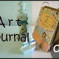 Diy Art Journal With Canvas Corp Brands