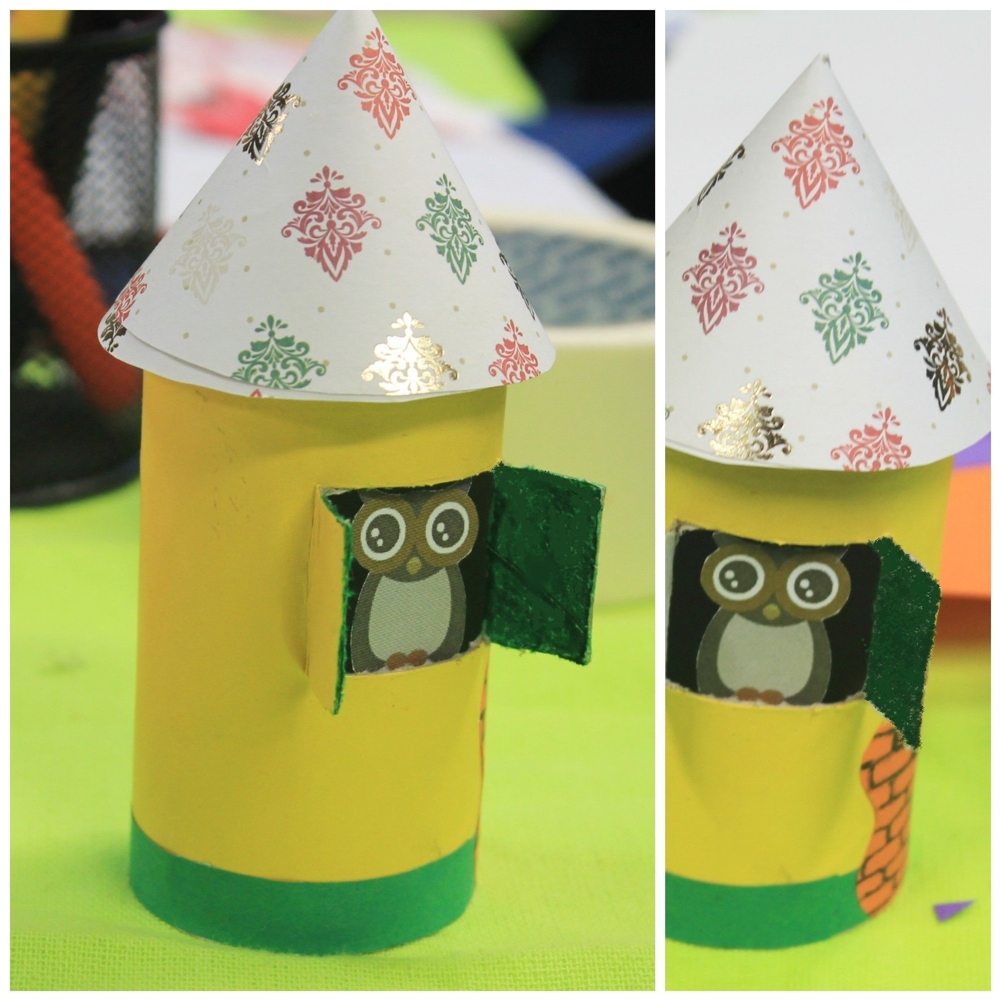 Diy Cute Paper Birdhouse Kids Room Decor 183 How To Make A