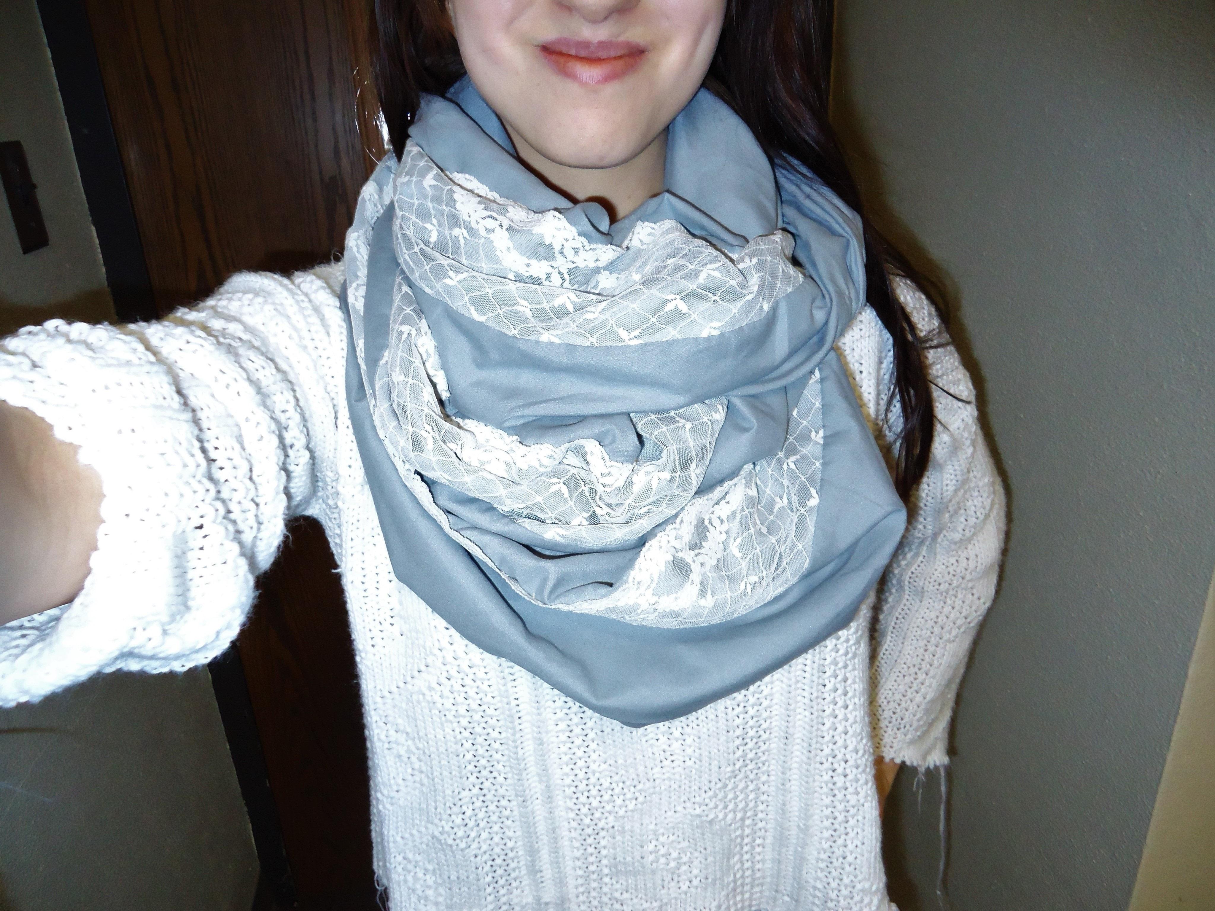 infinity check mel lush products cc grey scarf black buffalo fashion dsc dark