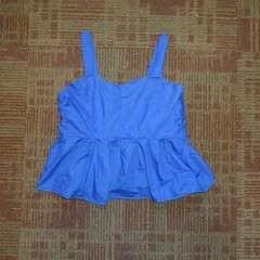 Blue Dress To Short Top