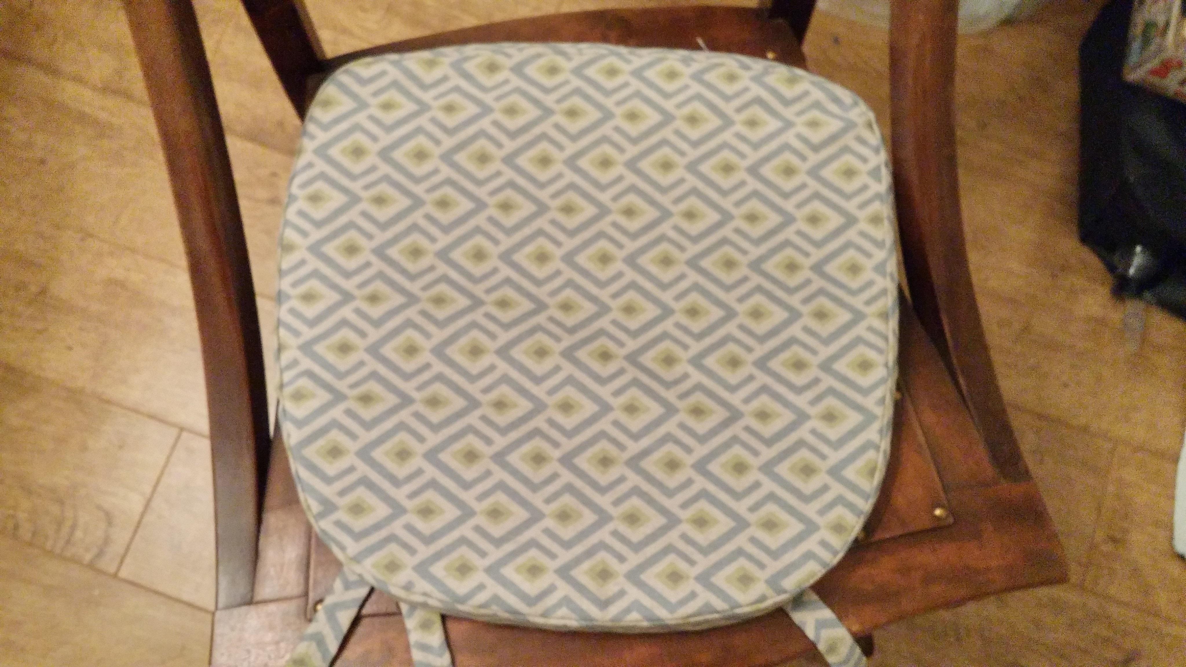 Rocking Chair Cushion Cover 183 How To Make A Cushion