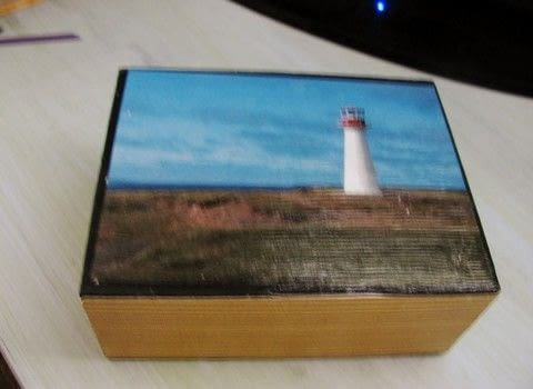 Recycle Boxes .  Make a piece of recycled art in under 120 minutes by creating, decorating, embellishing, and decoupaging with decoupage glue, box, and stickers. Creation posted by Pearle D.  in the Papercraft section Difficulty: Easy. Cost: No cost.