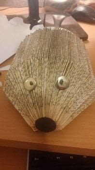 .  Make a piece of book art in under 90 minutes Version posted by Holly M. Difficulty: Simple. Cost: No cost.