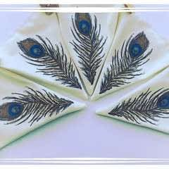 Peacock Feather Bunting