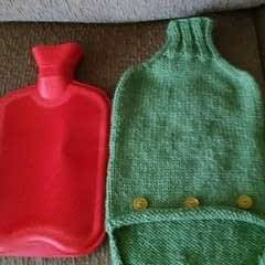 Knitting Pattern   Hot Water Bottle Cozy
