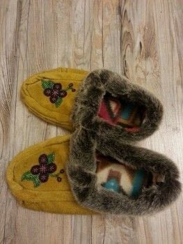 .  Make a pair of mocassins Version posted by Falene M. Difficulty: 3/5. Cost: 3/5.
