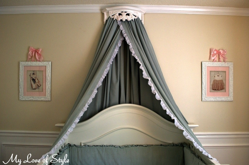 Bed Crown Canopy Tutorial How To