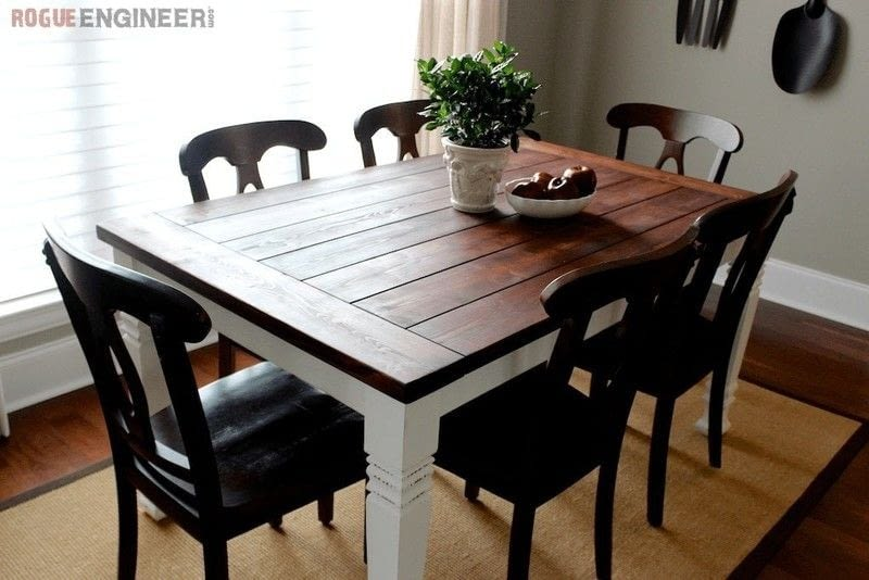 Farmhouse Table How To Make A Home DIY On Cut Out Keep