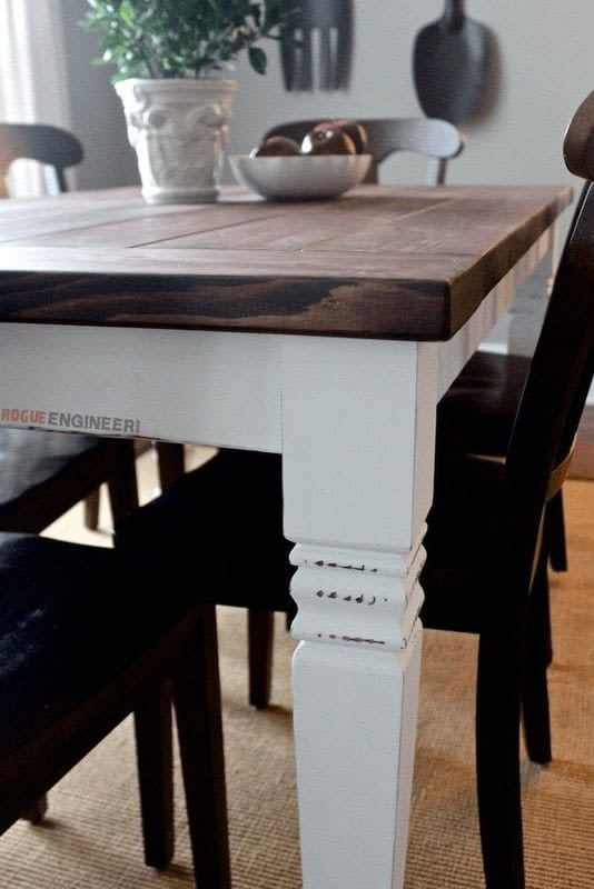 Farmhouse Table 183 How To Make A Table 183 Home Diy On Cut