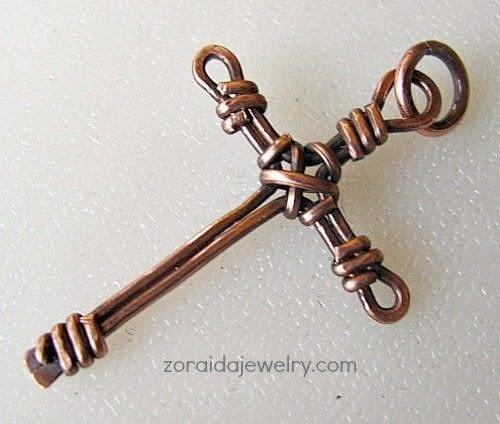 Wire Wrapped Cross Tutorial 183 How To Make A Cross