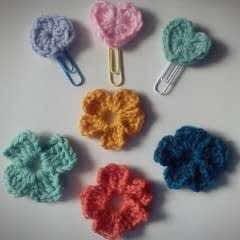 Crochet Hearts & Flowers