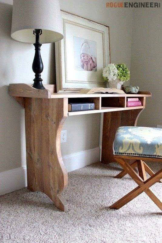Do It Yourself Home Design: Sicily Writing Desk · How To Make A Desk · Home + DIY On
