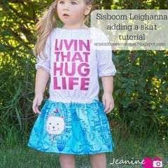Hug Life Drop Waist Peasant Dress