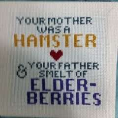 The Holy Grail Of Cross Stitching