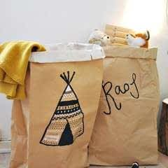 Diy Paper Bag Storage