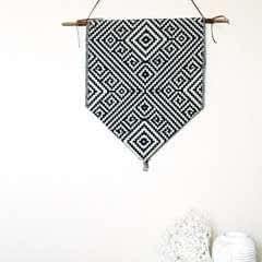 Aztec Inspired Diy Wall Banner