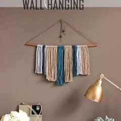 Diy Copper Pipe & Yarn Wall Hanging