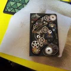 Steampunk Journal With Canvascorpsbrands Products