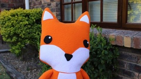 A foxy friend to make! .  Free tutorial with pictures on how to make a fox plushie in under 180 minutes using fleece, felt, and felt. How To posted by Lauren.  in the Sewing section Difficulty: Easy. Cost: Cheap. Steps: 1