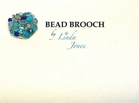 Make a bead brooch .  Free tutorial with pictures on how to make a beaded brooch in under 50 minutes by beading, jewelrymaking, and wireworking with pliers, wire cutters, and wire. How To posted by Linda J.  in the Jewelry section Difficulty: 3/5. Cost: 3/5. Steps: 5