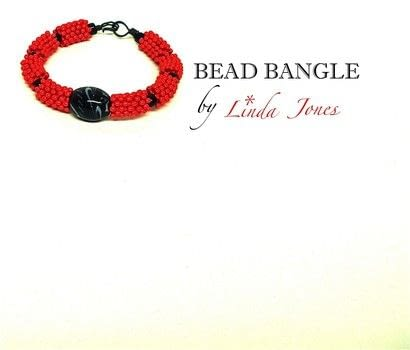 Make a bead bangle .  Free tutorial with pictures on how to bead a woven bead bracelet in under 35 minutes by beading and jewelrymaking with pliers, wire cutters, and wire. How To posted by Linda J.  in the Jewelry section Difficulty: Simple. Cost: Cheap. Steps: 4