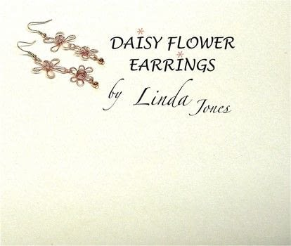 Make some wire Daisy Dangle Earrings .  Free tutorial with pictures on how to make a pair of wire earrings in under 60 minutes by jewelrymaking and wireworking with pliers, wire cutters, and wire. Inspired by daisy. How To posted by Linda J.  in the Jewelry section Difficulty: 3/5. Cost: 3/5. Steps: 6