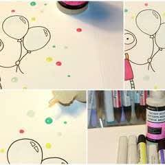 DIY Enamel Dots!