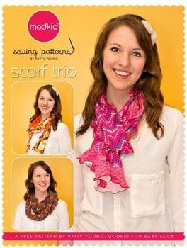 3 Scarf Styles  .  Free tutorial with pictures on how to make a fabric scarf in 3 steps using thread, knit fabric, and knit fabric. How To posted by Patty Y.  in the Sewing section Difficulty: Simple. Cost: No cost.