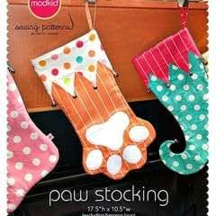Paw Stocking By Modkid